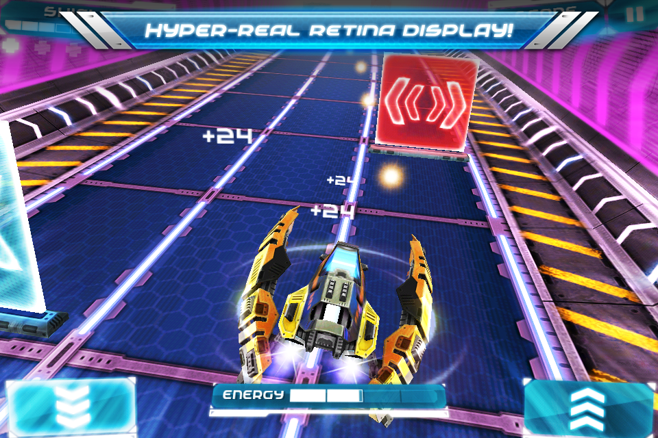Ion Racer iPhone, iPad Screenshot