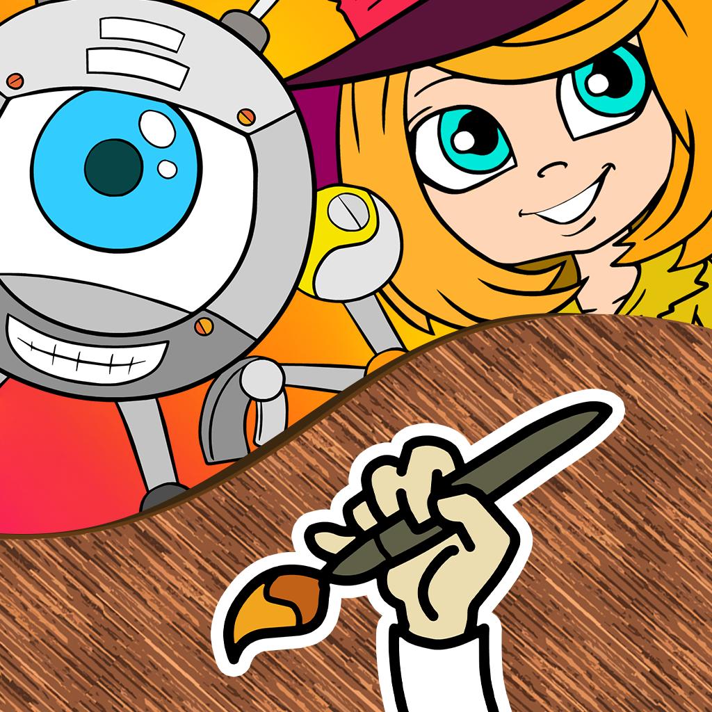 mzl.bemuojuk PicoToons Coloring Book by BigoBjuo Review